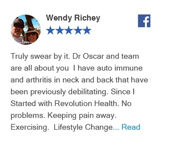 Facebook Review- Revolution Health Center
