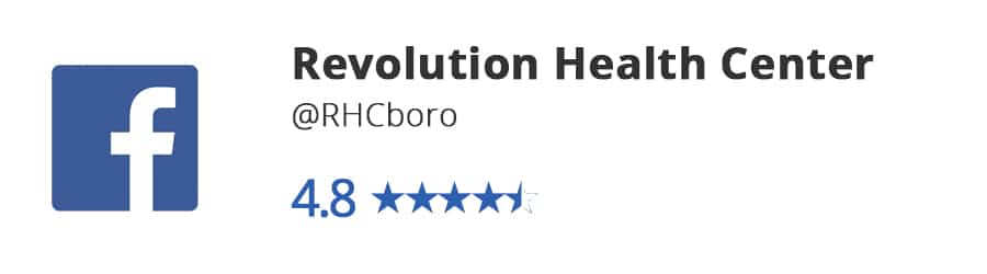 Facebook Reviews- Revolution Health Center
