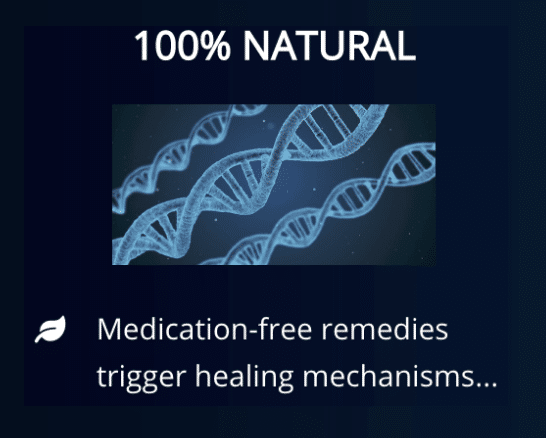 100% Natural treatment