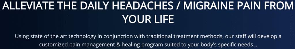 Alliviate your headache