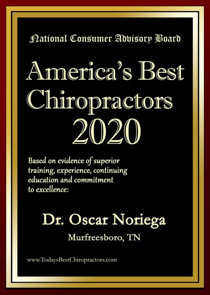 America's best chiropractor revolution health center