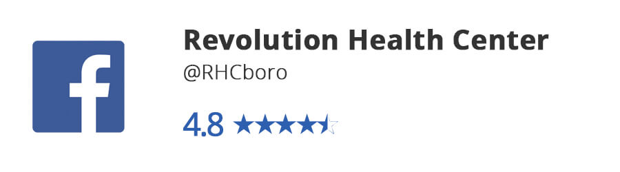 Facebook Reviews- Revolution Health Center
