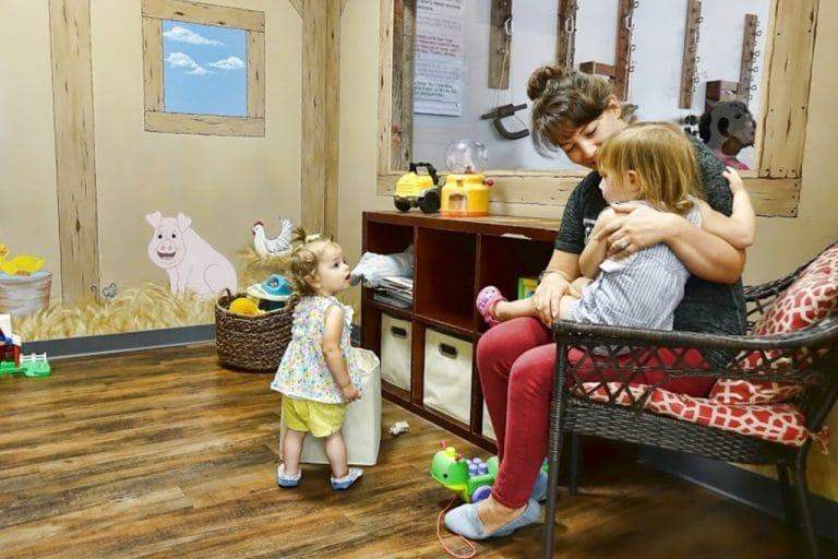 kids play area -revolution health center