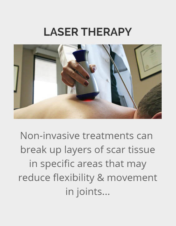 Laser Therapy - Revolution Health Center