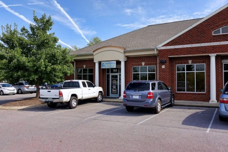 parking area -revolution health center