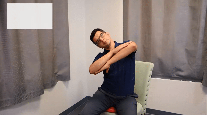 SIDE TO SIDE THERAPEUTIC EXERCISE for back pain at Revolution Health Center Chiropractic clinic in Murfreesboro
