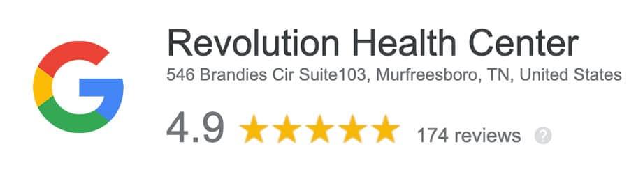 Google Reviews -Revolution Health Center
