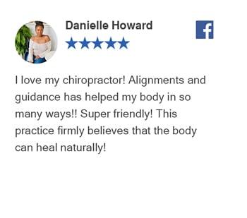 Danielle Howard - Facebook Reivew - Revolutionj Health Center