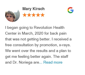 Mary Kirsch Google Review