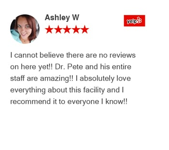 Ashley W Yelp Review for revolution health center