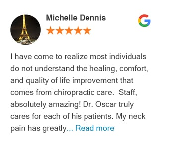 Michelle Dennis Google Review - revolution health center