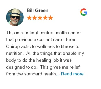 Google Review- Bill Green