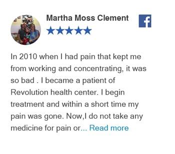 Facebook Review - Martha Moss Clement