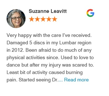 Google Review Suzanne Leavitt