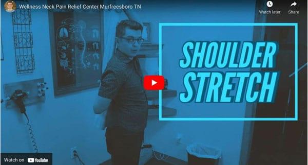 Shoulder Stretch explained at Revolution Health Center